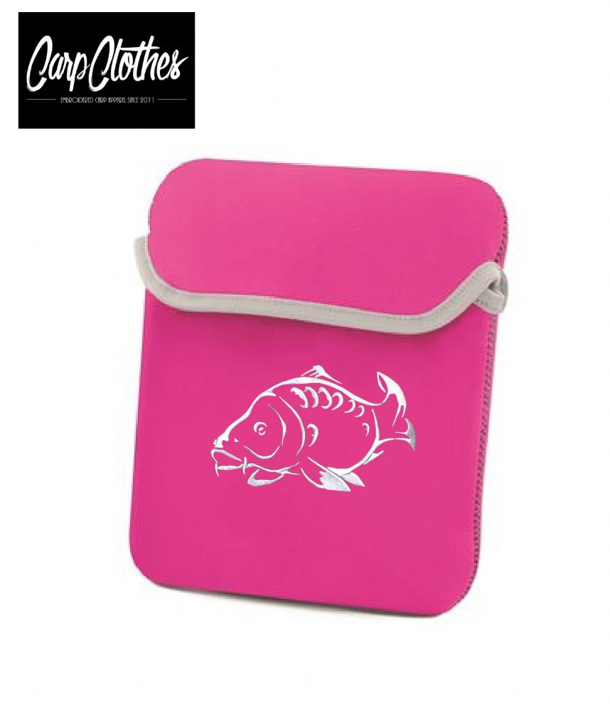 001 PINK  iPAD/TABLET NEOPRENE SLEEVE